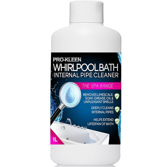 Pro-Kleen Hygienic Whirlpool and Jacuzzi Spa Bath Internal Pipe ...