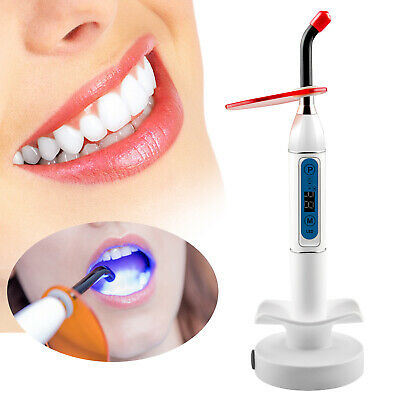 Dental 10w Wireless Cordless Led Curing Light Lamp 2000mw Dentistry White