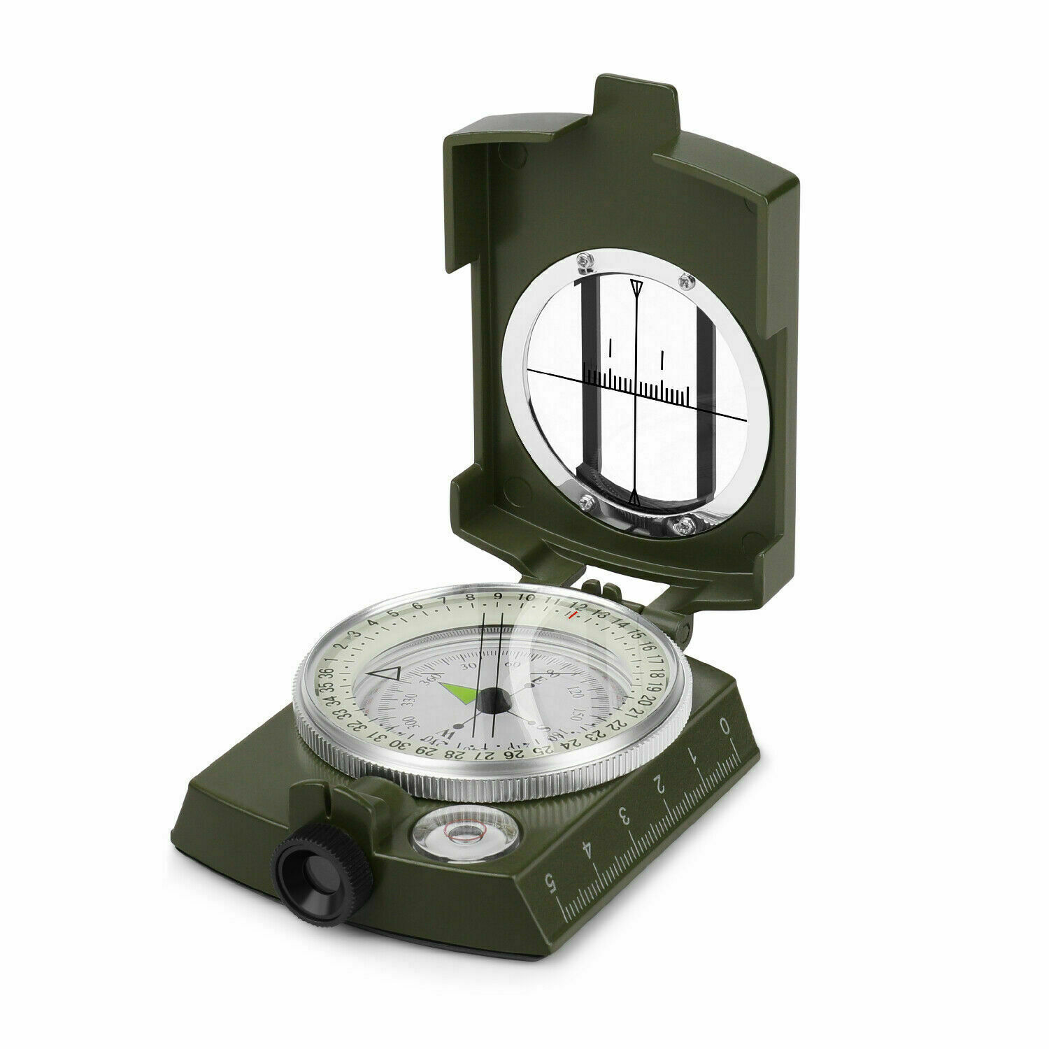 Pocket Metal Army Style Compass Military Camping Hiking Survival Marching USA Camping & Hiking