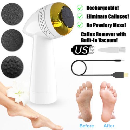 Electric Vacuum Foot Grinder File Dead Skin Callus Remover Exfoliate Adsorption