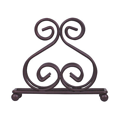 Bronze Wire Napkin Holder Home Basics Scroll Collection Dining Room Kitchen