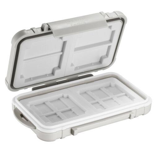 Neewer 14 Slots Memory Card Case Holder, Waterproof Storage Cards Box-Grey