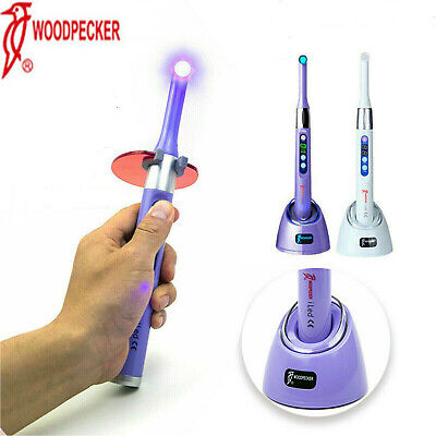 Original Woodpecker Dental I Led Curing Light 1 Sec Cure 2300mwcm2 Whitepurple
