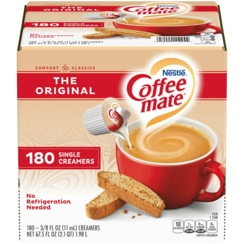 Coffee Mate The Original Liquid Coffee Creamer (180 ct.)