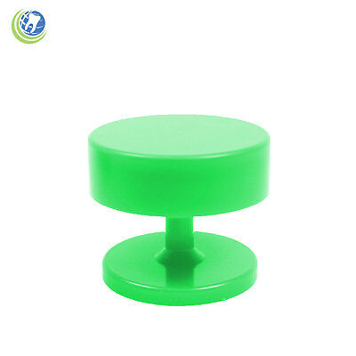 New Magnetic Dental Lab Bur Holder Stand Station Neon Green Holds Fg Ra Burs