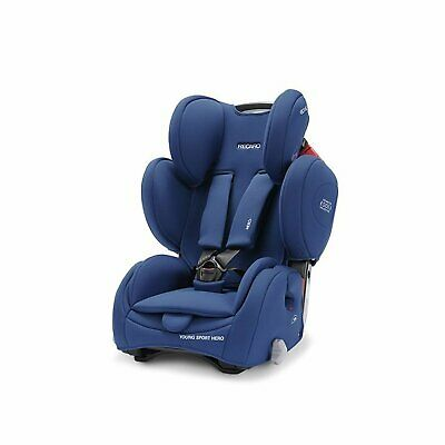Recaro Young Sport Hero Energy Blue Child Seat (9-36 kg 19-79 lbs) New