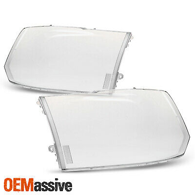 For 2013-2018 Ram 1500/2500/3500 Headlight Len Cover Pair Heavy Duty 14 15 16 17