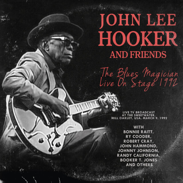 JOHN LEE HOOKER AND FRIENDS The Blues Magician Live On Stage Digipak-CD - 700028