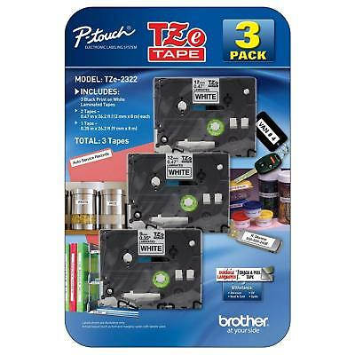 Brother P-touch - Label Tape Assorted Pack - 2 Tze231 1 Tze221