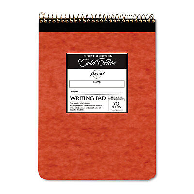 Ampad Gold Fibre Retro Wirebound Writing Pad Legal 8 12 X 11 34 Ivory 70
