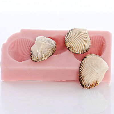 Silicone Sea Shell Mold Food Safe Mint Candy Fondant Mold Jewelry Mold (860)
