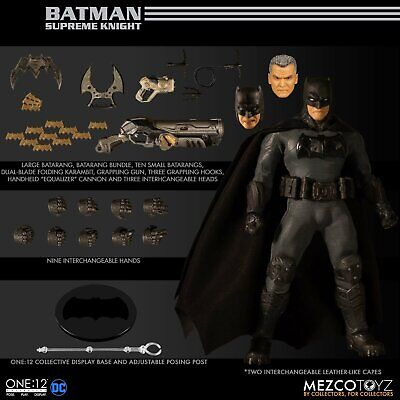 Mezco ONE:12 COLLECTIVE Batman Supreme Knight 6 inch action figure PRESALE new!