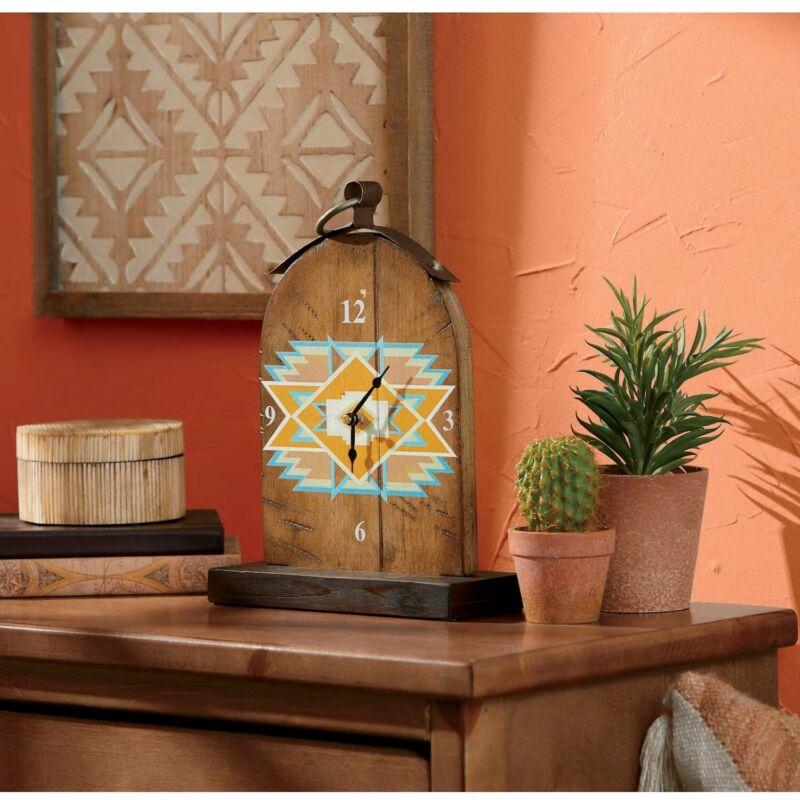 Decorative Wood Table Clock