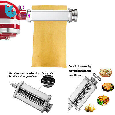 Pasta Roller Attachment Kitchenaid Stand Mixer Stainless Steel Parts (Attaching Parts)