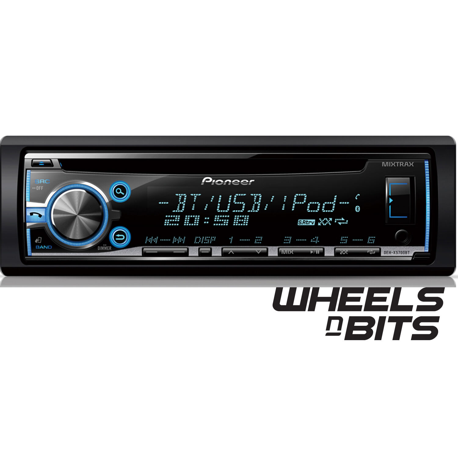 Pioneer Ipod Car Pioneer Deh-x5700bt Car Stereo