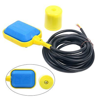 - Float Switch w/4M Cable Water Level Controller F/Septic System, Sump Pump