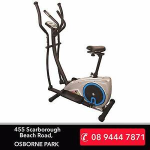 Brand New 2-in-1 Combo - Exercise Bike & Cross Trainer Combinatio Osborne Park Stirling Area Preview