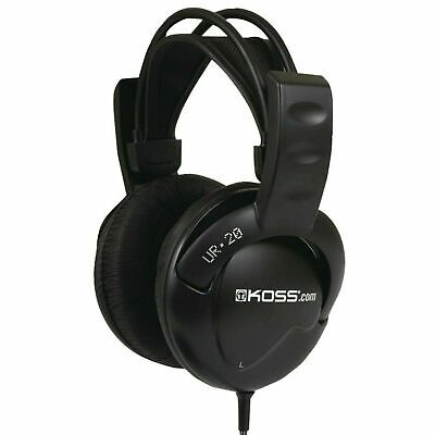 Over The Ear Headphones Flexible Headband Stereophone Deep Bass Wired 3.5 mm