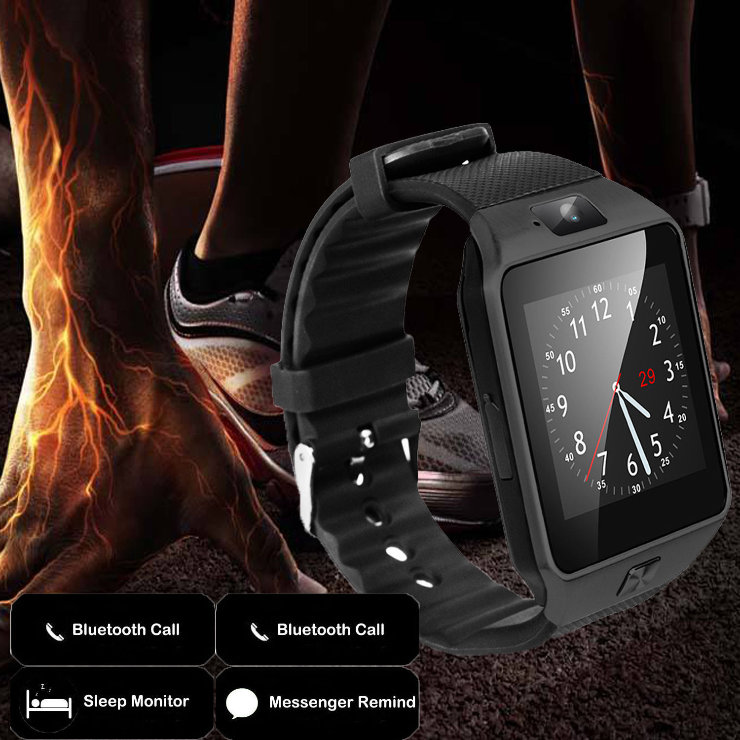 f274232352e ... Newest Bluetooth Smart Watch Sports Activity Band for iPhone Samsung LG  HTC ZTE фото