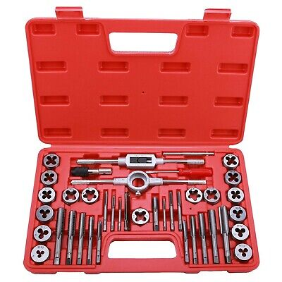 Best Choice 40-Piece Tap and Die Set - SAE Inch Sizes | Essential Threading