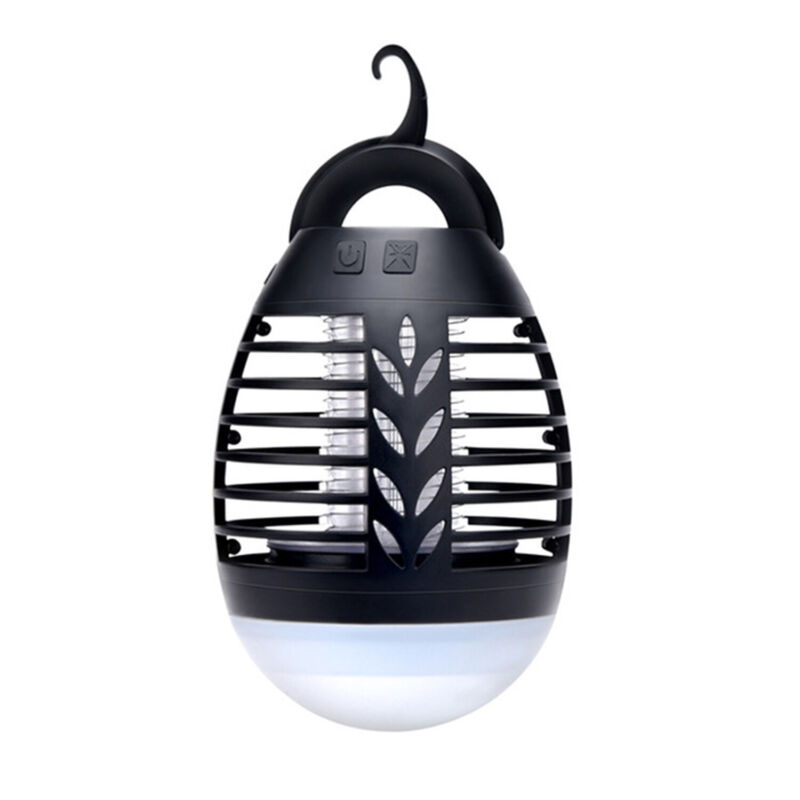 Electric Fly Mosquito Bug Zapper Portable Mini USB Insect Pest Killer LED Lamp