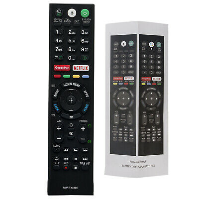 RMF-TX310E Remote Control for SONY Bravia TV Voice Control KD-43XF8796 KD49XE805