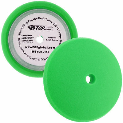 "8"" Green Fine Foam Buffing Grip Pad Final Cut Polish Finishing Polishing Waxing"