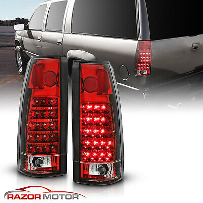 1988-1999 Chevy C/K C10 1500/2500/3500 Blazer Escalade LED Tail Lights Pair