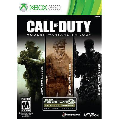 Call of Duty: Modern Warfare Trilogy Xbox 360 [Factory Refurbished]