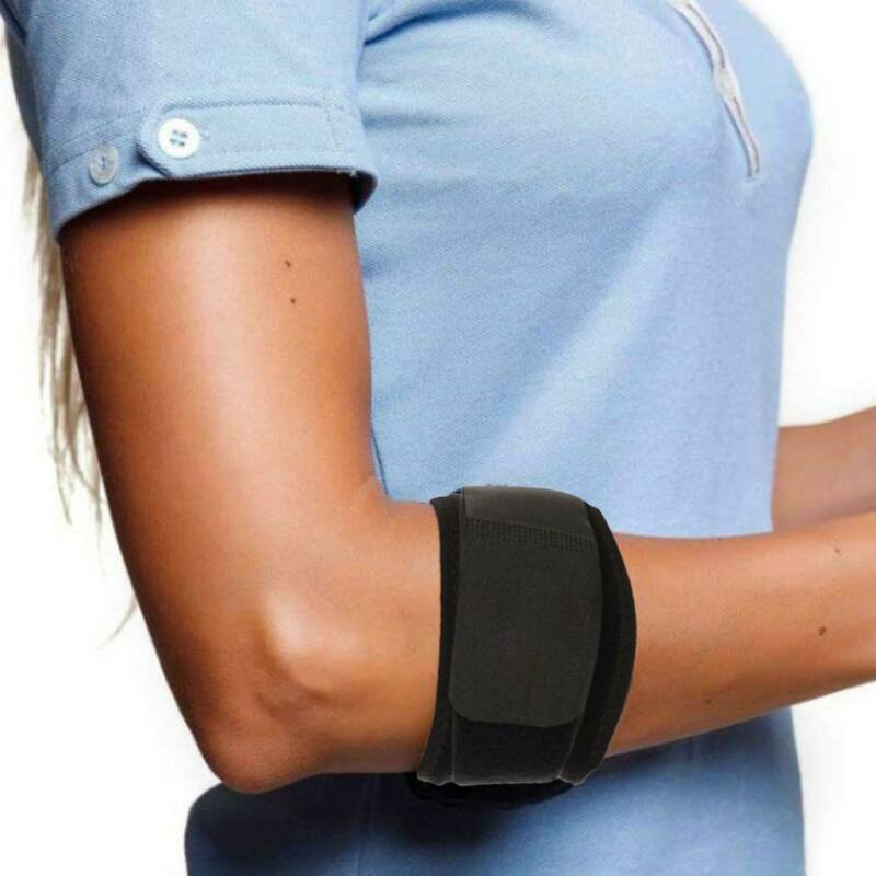 Tennis Elbow Compression Pad Golfers Strap Tendonitis Pain