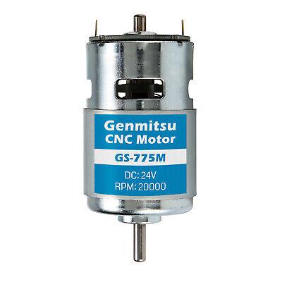 Sainsmart Genmitsu Gs-775m 24v 20k Rpm Spindle Motor Noise Suppression For 3018