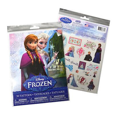 Disney Frozen 50 Piece Temporary Tattoos [Brand New]](Games Frozen)