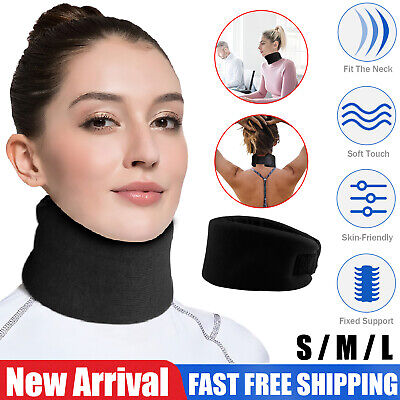 Soft Foam Neck Brace Support Device Collar Traction Cervical Therapy Pain Relief Cervical Collar Neck Brace
