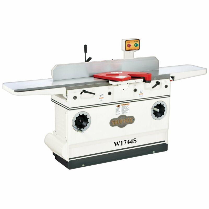 Shop Fox W1744S 3 HP 12-Inch Jointer Spiral Cutterhead