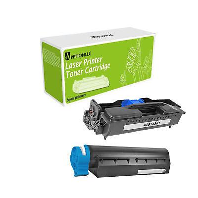 44574901 44574301 New Compatible Toner & Drum Cartridge For OKI B411D (Compatible Toner Drum)