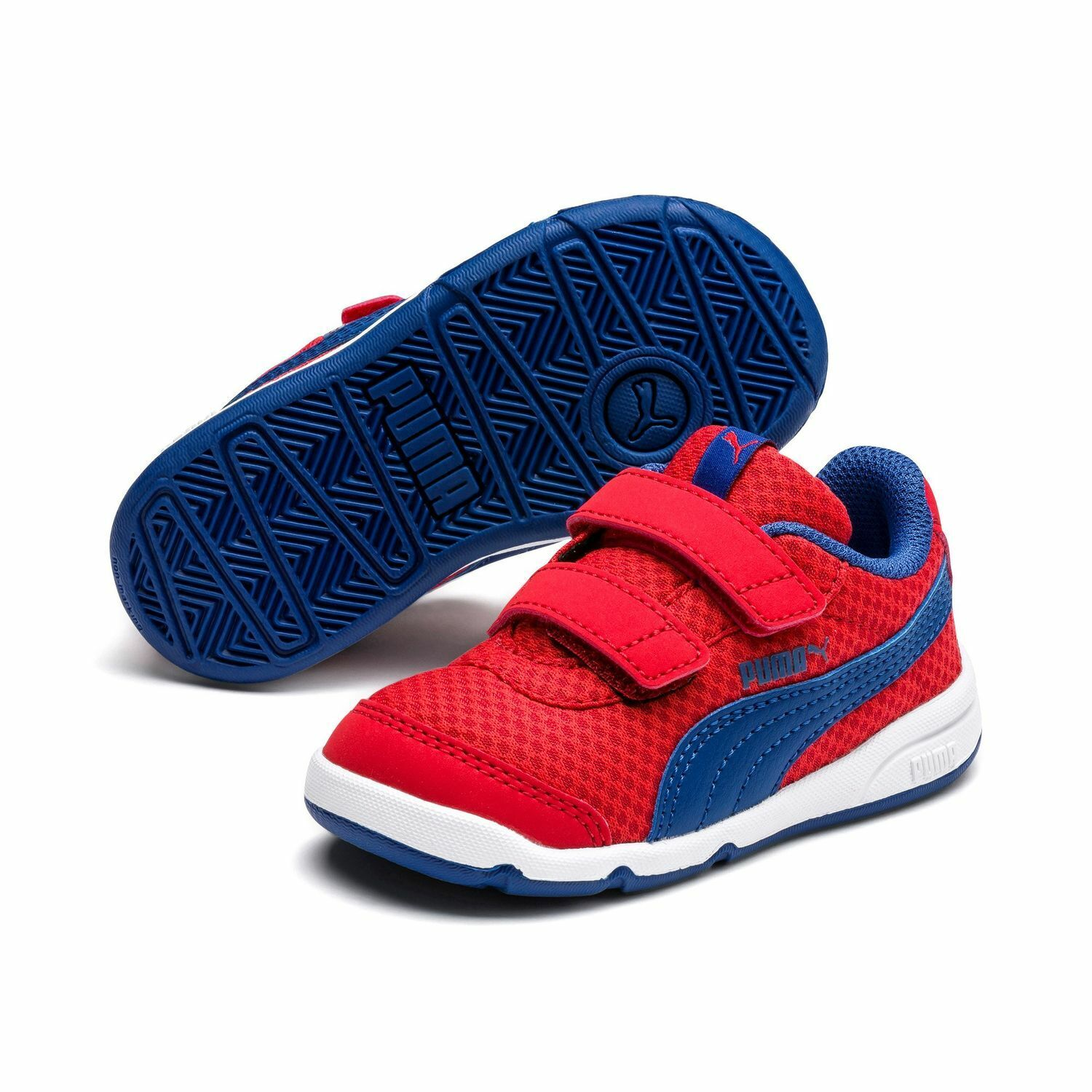 Puma Stepfleex 2 Mesh Ve V Inf Children Baby Shoes Trainers 192525 Red