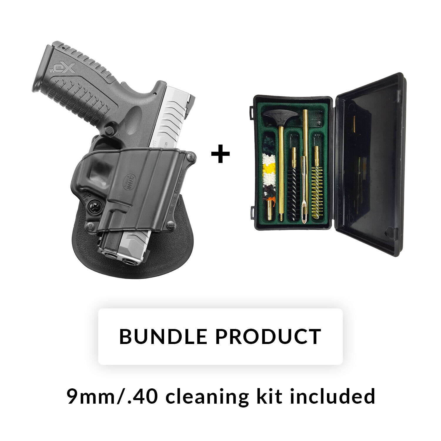 Details about BUNDLE Fobus roto retention paddle holster springfield  xd,xdm,9mm,40,45/HK p2000