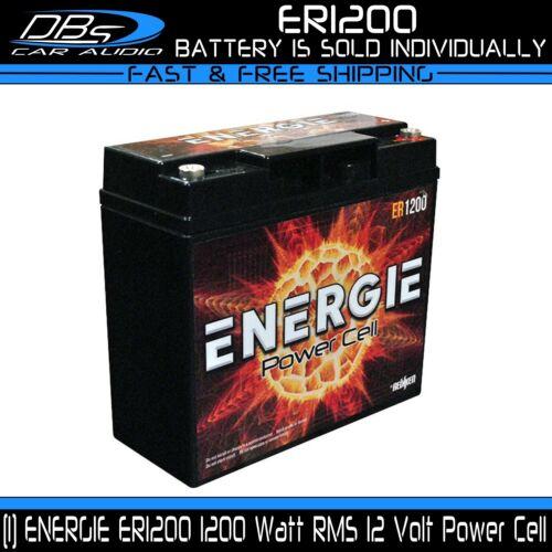Car Audio Power Cell Battery Energie ER1200 12 V Volt 1200 Watt Sealed Reikken