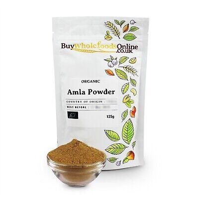 Organic Amla Powder 125g   Buy Whole Foods Online   Free UK P&P