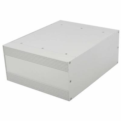 Silver Extruded Aluminum Electronic Enclosure Project Box 250 X 205 X 100mm
