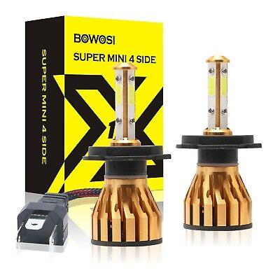 4-Sides H4 LED Headlight Kit CREE HB2 9003 2200W 330000LM Hi/Lo Power Bulb 6500K