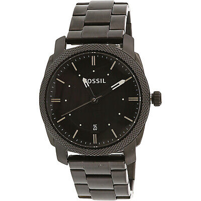 Fossil Men's Machine Quartz Stainless Steel Dress Watch, Col