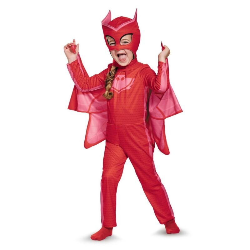 Disney Channel PJ Masks Owlette Classic Toddler Child Costume | Disguise 17156