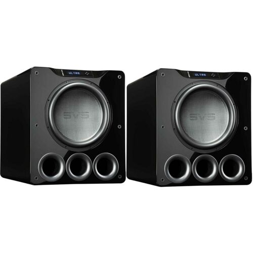 "Svs Pb16-ultra 16"" Powered Subwoofer (gloss Black) -pair"