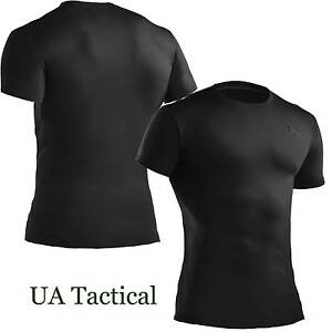 Under-Armour-Mens-UA-Tactical-Heatgear-Compression-T-Shirt-BLACK-1216007