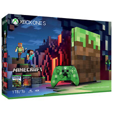 Microsoft Xbox One S 1TB Minecraft Limited Edition Console Brand NEW