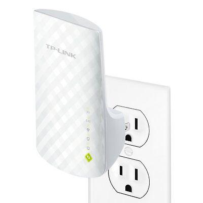 Tp Link Ac750 Dual Band Wifi Range Extender  Extends Wifi To Alexa   Smart Home