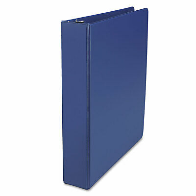 Universal D-ring 3-ring Binder With Label Holder 1-12 In. Capacity Royal Blue