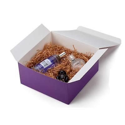 20pcs Purple Gift Boxes w/Lids Party Favor Gift Wrapping Supplies 8x8x4 inches