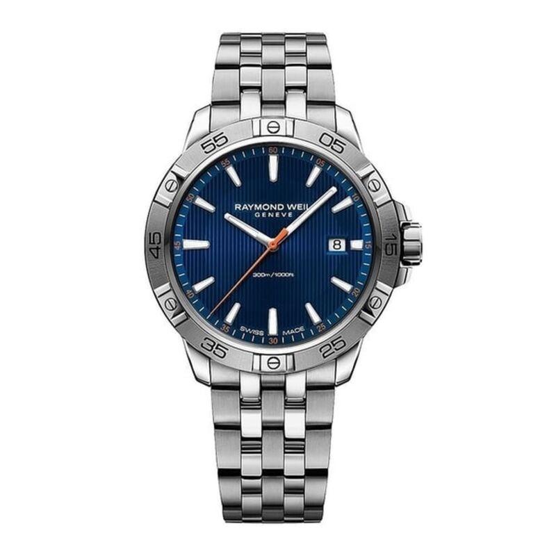 Raymond Weil 8160-ST2-50001 Men Tango Blue Quartz Watch